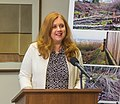 CM Herbold at West Seattle Tree clearcut settlement announcement (34178409051).jpg