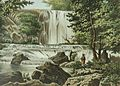 COLLECTIE TROPENMUSEUM Een waterval in Singgahan TMnr 3728-841.jpg
