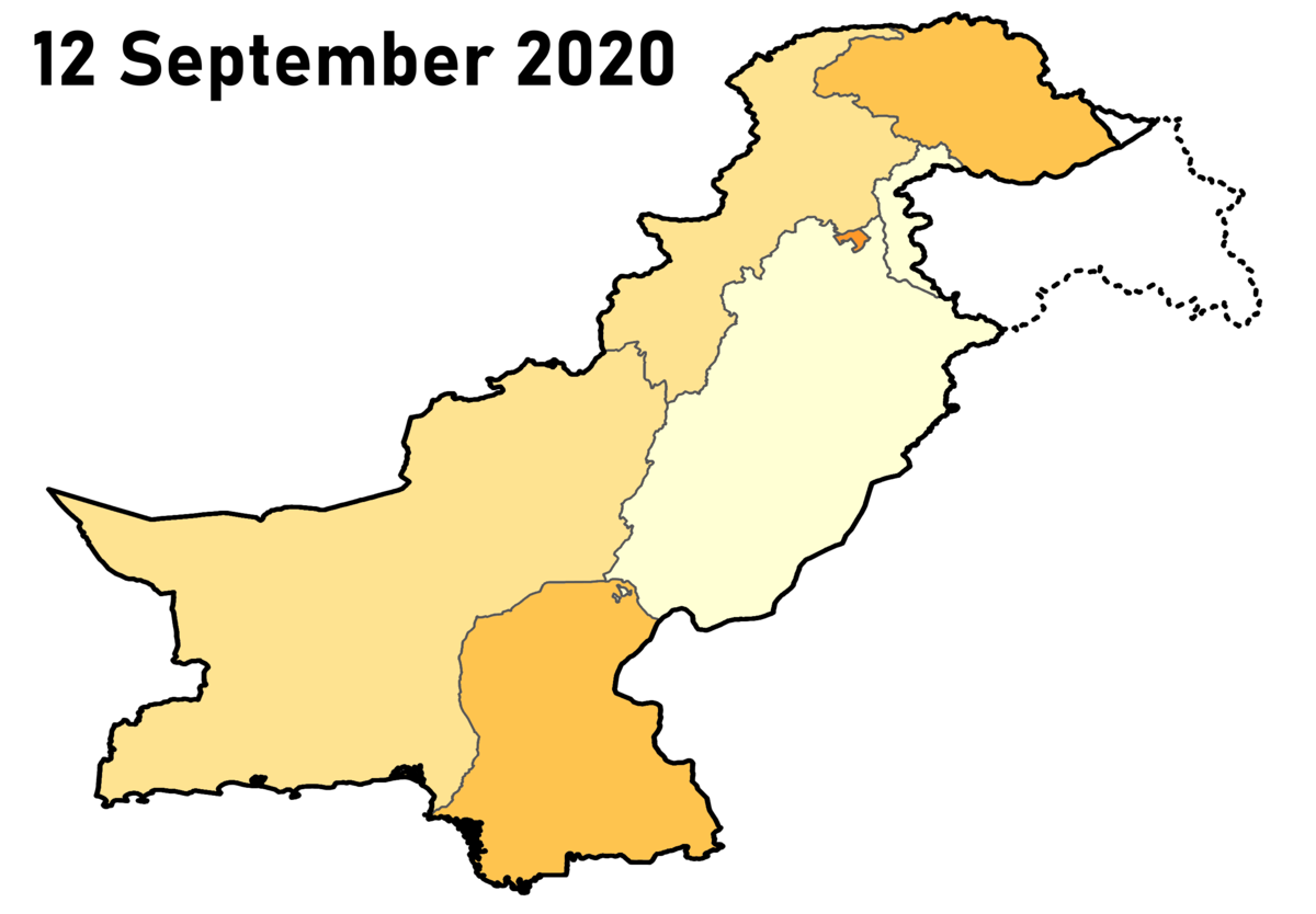 Covid 19 Pandemic In Pakistan Wikipedia