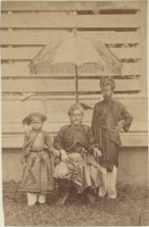 Selangor Sultanate - Sultan Alauddin Sulaiman Shah, circa 1860–1900.