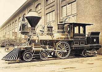 4-2-4T - The C.P. Huntington