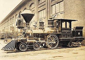 C. P. Huntington - C. P. Huntington after its 1888 rebuild in Sacramento