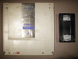 Videodisc - Videodisc and VHS Cassette