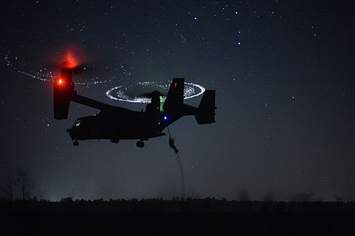 CV-22 Osprey during Emerald Warrior near Hurlburt Field