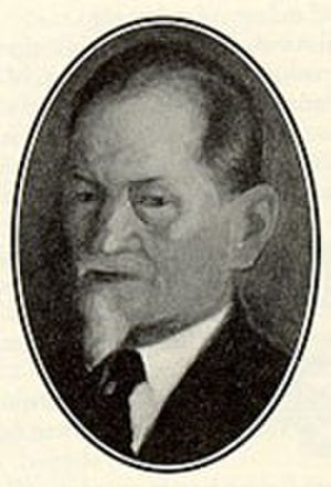 Carl Richard Nyberg - Carl Richard Nyberg, painting from around 1920.