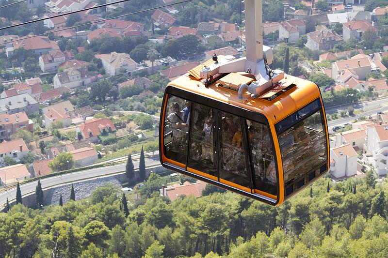 File:Cable car in Dubrovnik.jpg