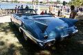 Cadillac El Dorado 1957 Biarritz Convertible LSideRear Lake Mirror Cassic 16Oct2010 (14690677139).jpg