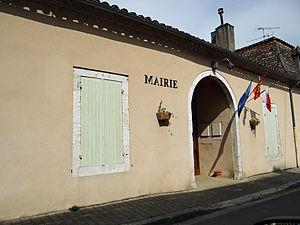 Cahuzac, Lot-et-Garonne - The town hall in Cahuzac