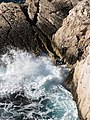 Calanques -- Calanque de Port-Pin - petit rocher.jpg