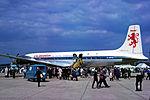 Caledonian Airways Douglas DC-7C (G-ARYE) at the Biggin Hill International Air Fair.jpg
