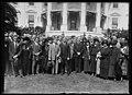 Calvin Coolidge and group outside White House, Washington, D.C. LCCN2016887501.jpg