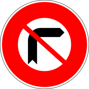 Road signs in Cambodia - Image: Cambodia road sign PW03 R1 02