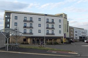 Orchard Park, Cambridgeshire - Image: Cambridge Orchard Park Premier Inn