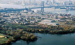 North Camden Neighborhood of Camden in New Jersey, United States