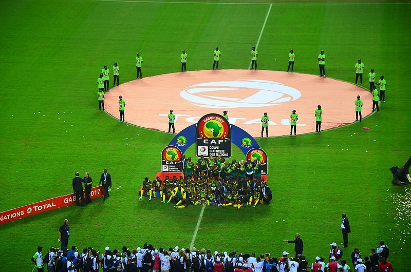 ファイル:Cameroon celebrating winning 2017 Africa Cup of Nations.jpg