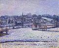 Camille Pissarro - Scène de neige à Éragny (1884).jpg