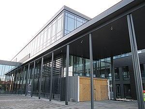 University of Agder - Campus Grimstad, main entrance