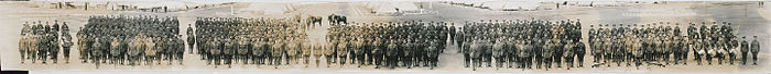 Canadian Expeditionary Force, 111th O.S. Battalion, London, Ontario, June 23, 1916. No. 545 (HS85-10-32553)