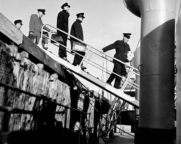 Canadian Immigration Officials at Pointe-au-Pere
