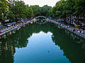 Canal Saint-Martin, Paris 21 July 2013.jpg