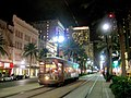 Canal Street at Night, New Orleans Central Business District, 6 November 2008 - 11.jpg