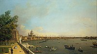 Canaletto - London- The Thames from Somerset House Terrace towards the City - Google Art Project.jpg