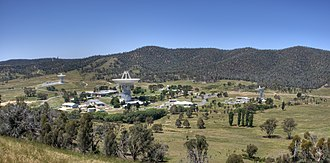 NASA Deep Space Network - The Canberra Deep Space Communication Complex in 2008