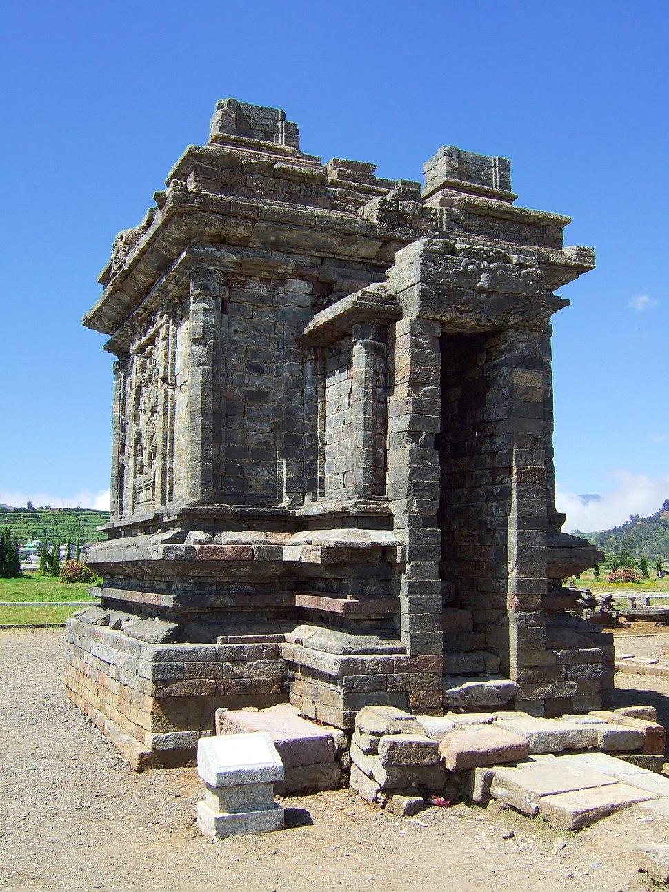 Candi Srikandi side view