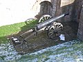 Cannon (taken from the walls) - geograph.org.uk - 741413.jpg