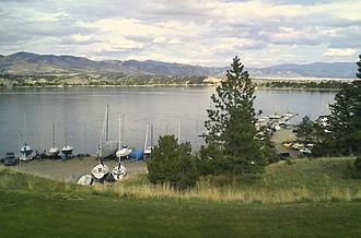 Canyon Ferry Lake - Image: Canyon Ferry Yacht Basin