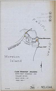 Moreton Island lighthouses Wikimedia list article