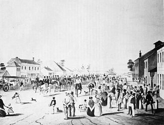 Charles Sturt - Sturt leaving Adelaide in 1844
