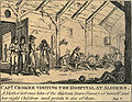 Captain walter croker visiting the hospital at algiers 1816.jpg