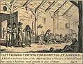 Captain walter croker visiting the hospital at algiers 1816.jpg