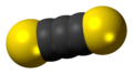 Carbon subsulfide 3D spacefill.png