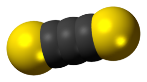 Carbon subsulfide - Image: Carbon subsulfide 3D spacefill