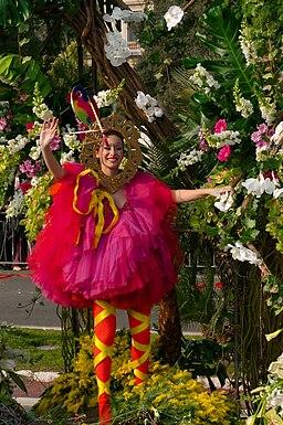 Carnaval de Nice - bataille de fleurs - 13