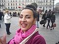 Carnaval des Femmes 2015 - P1360803 - Une participante au cortège du Carnaval des Femmes.JPG