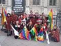 Carnaval des Femmes 2015 - P1360852 - Place de l'Hôtel-de-Ville - Les Boliviens.JPG