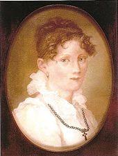 Caroline Friedrich geb. Bommer, um 1824 (Quelle: Wikimedia)