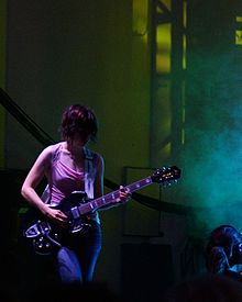 Carrie Brownstein of Sleater-Kinney at Lollapalooza 2006.jpg
