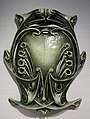 Cartouche for Paris Metro entry, Hector Guimard, c. 1900, cast iron, enamel - Hessisches Landesmuseum Darmstadt - Darmstadt, Germany - DSC00902.jpg
