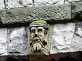 Carved stone head on Rock Cottage - geograph.org.uk - 1447087.jpg