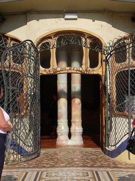 File:Casa batllo rear patio door.JPG