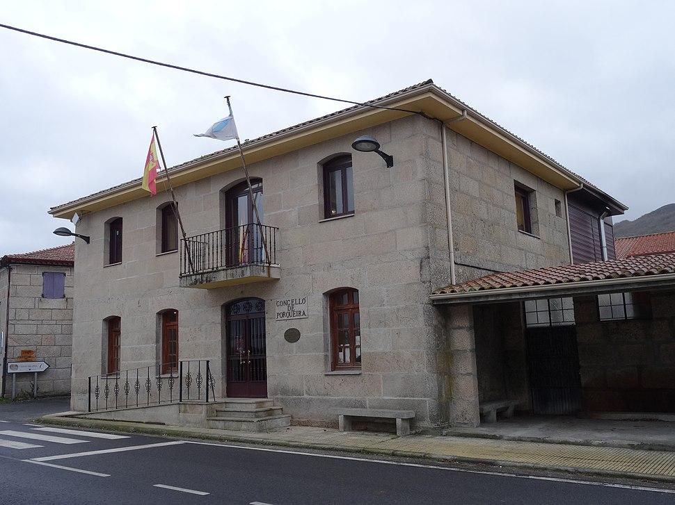 Casa concello, Porqueira, Ourense 02