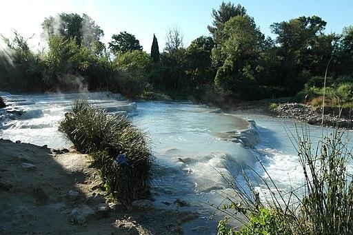 Cascata del Gorello, Manciano GR, Tuscany, Italy - panoramio (2)