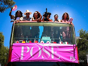 Immagine Cast Pose at Los Angeles Pride Parade by dvsross.jpg.