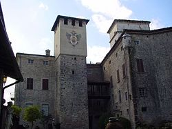 The Castle of Torre Ratti.