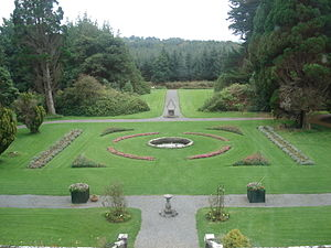 Markree Castle - The garden