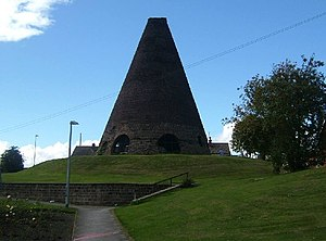 Catcliffe - The glass cone at Catcliffe